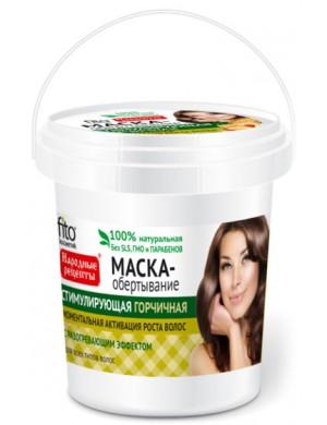 Fitkosmetik Gorczycowa maska pobudzająca porost włosów