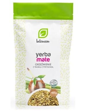 Intenson Yerba Mate - Orzeźwienie z trawą cytrynową 150g