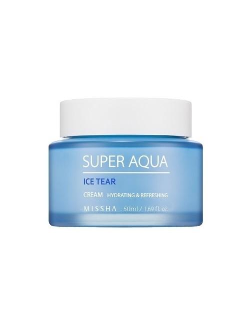 MISSHA Super Aqua Ice Tear Cream – Nawilżający krem do twarzy
