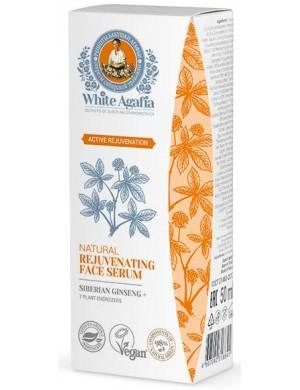 """Serum do twarzy +50 lat """"Aktywne odmłodzenie"""" , 30 ml - White Agafia"""