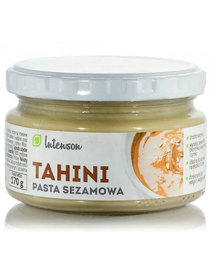 Intenson Naturalna pasta sezamowa Tahini 170g
