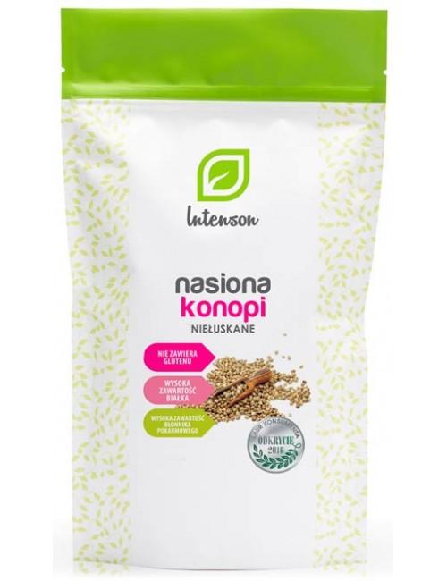 Intenson Niełuskane nasiona konopi 150g