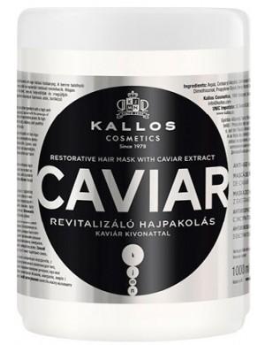 KALLOS Caviar, Rewitalizująca maska do włosów z kawiorem 1000ml