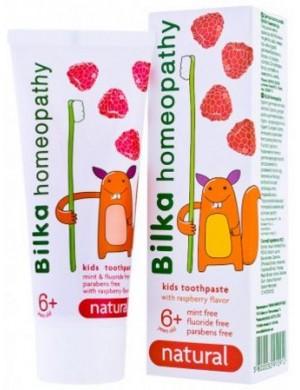 Naturalna pasta do zębów dla dzieci 6+ Bilka Homeopathy