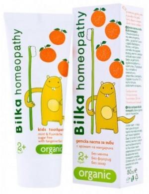 Naturalna pasta do zębów dla dzieci od 2 roku życia - Bilka Homeopathy