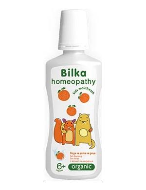 Płyn do płukania jamy ustnej dla dzieci bez parabenów - Bilka Homeopathy