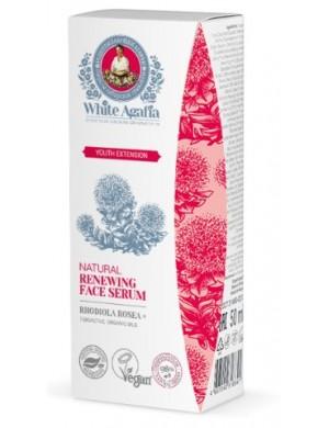 """Odnawiające serum do twarzy 35-50 lat - """"Przedłużenie młodości"""" - White Agafia"""