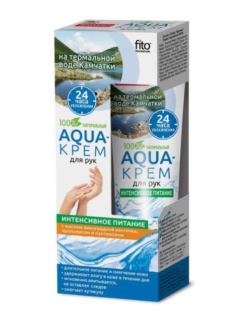 Aqua krem do rąk z wodą termalną, propolisem i panthenolem - Fitokosmetik