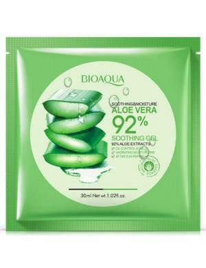 Łagodząca maska w płachcie 92% Aloe - BIOAQUA