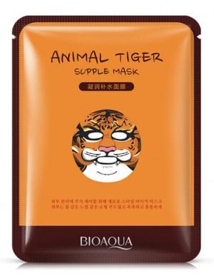 Maseczka w płachcie na twarz - BIOAQUA Animal Mask Tiger