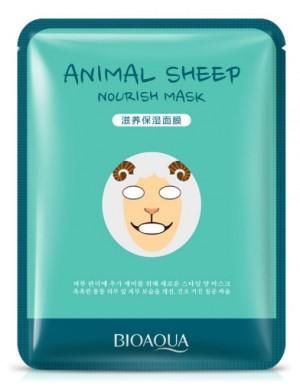 Odżywcza maseczka w płachcie - BIOAQUA Animal Mask Sheep