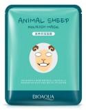 Maseczka w płachcie na twarz - BIOAQUA Animal Mask Sheep