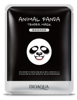 Maseczka w płachcie na twarz - BIOAQUA Animal Mask Panda