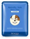Maseczka w płachcie na twarz - BIOAQUA Animal Mask Dog
