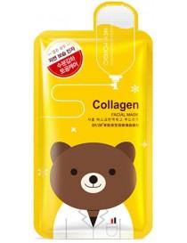 ROREC Collagen Facial Mask - Maska w płachcie z kolagenem