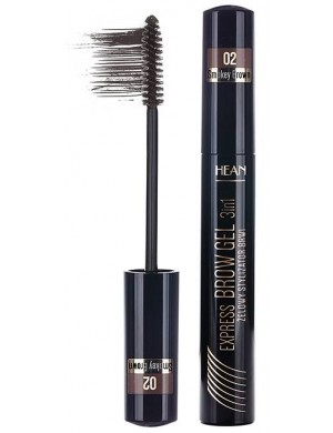 HEAN Tusz stylizator do brwi Express Brow Gel - Smokey Brown (Brązowy)