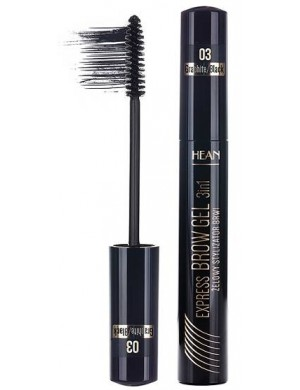 HEAN Tusz stylizator do brwi Express Brow Gel - Graphit/Black (Grafitowy)