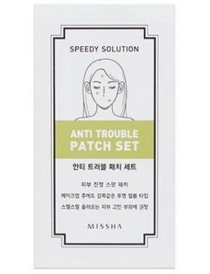 MISSHA Plasterki na wypryski - Speedy Solution Anti Trouble Patch