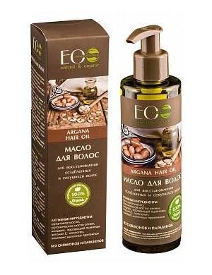 ECOLAB Wzmacniający olej arganowy do włosów słabych i łamliwych