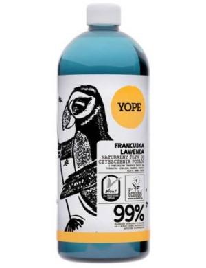 YOPE Naturalny płyn do mycia i czyszczenia podłóg - Francuska lawenda
