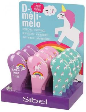 Sibel D-meli-melo Szczotka do włosów z jednorożcem Unicorn
