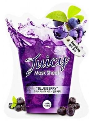 HOLIKA HOLIKA Maska w płacie Juicy Mask Sheet Blue Berry