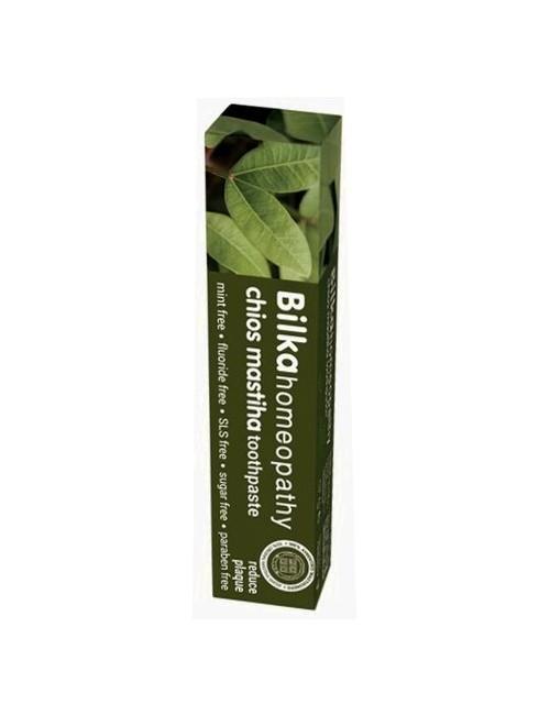 Pasta do zębów z wodą z drzewa Mastiha - Ochrona dziąseł - Bilka Homeopathy