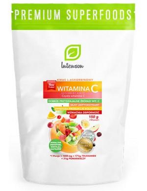 Intenson Witamina C - kwas L- askorbinowy - Superfoods 150g