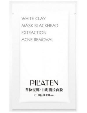 Biała maska na wągry oczyszczająca pory - PILATEN White Mask Peel-off 6g
