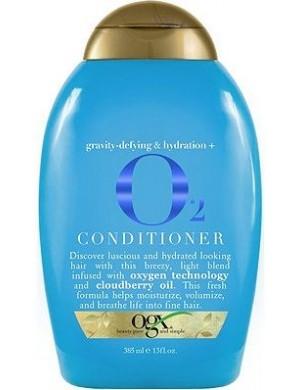 Ogx Nawilżająca odżywka do włosów na objętość O2