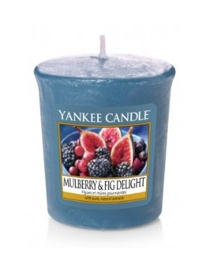 YANKEE CANDLE Świeca zapachowa - sampler - Mulberry & Fig Delight