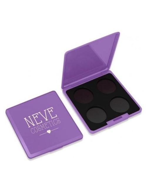 Neve Cosmetics Paleta magnetyczna na 4 cienie do powiek