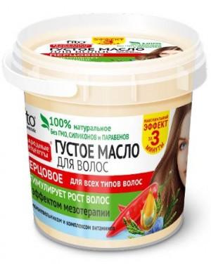 Fitokosmetik Pieprzowy gęsty olej na porost włosów z efektem mezoterapii