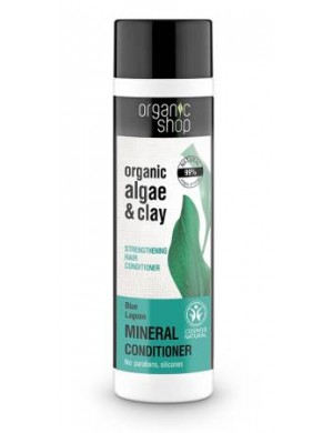 Organic Shop Wzmacniający balsam do włosów Błękitna Laguna