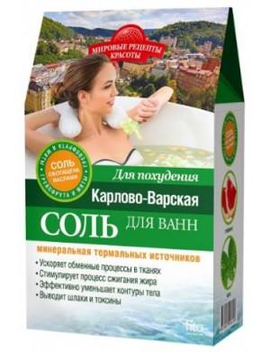 Fitokosmetik Wyszczuplająca sól do kąpieli z olejem grejpfrutowym