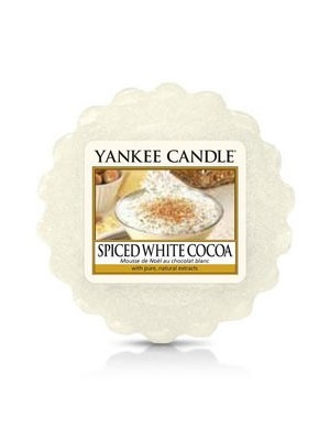 Yankee Candle Wosk zapachowy Spiced White Cocoa