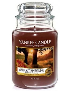 Yankee Candle Świeca zapachowa Warm Autumn Evening – duży słój
