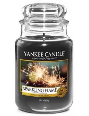 Yankee Candle Świeca zapachowa Sparkling Flame – duży słój
