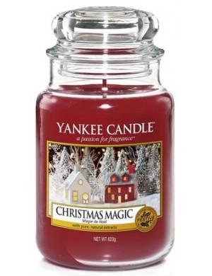 Yankee Candle Świeca zapachowa Christmas Magic – duży słój