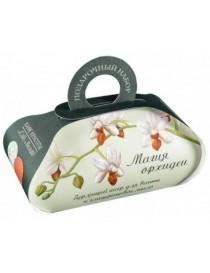 Le Cafe de Beaute Zestaw kosmetyków Magia Orchidei - Naturalne mydło + kula musująca do kąpieli