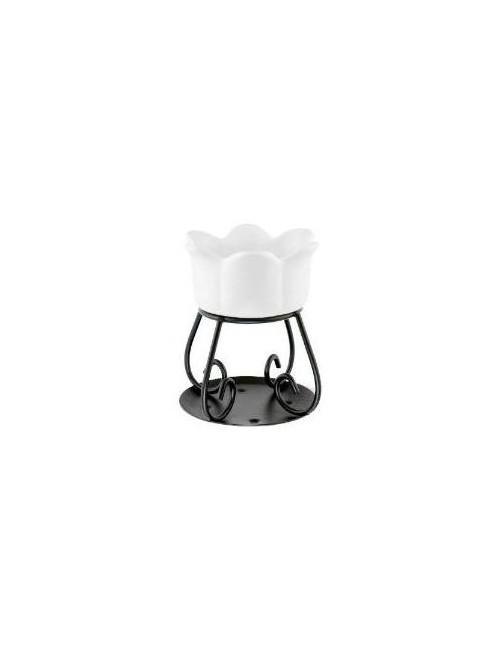 Yankee Candle Biały kominek do wosków zapachowych Petal Bowl