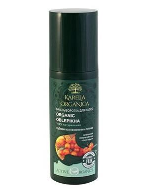 Karelia Organica Odnawiające bio-serum do włosów z rokitnikiem i fito keratyną Oblepikha