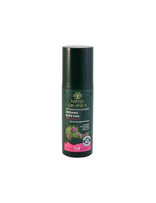 Karelia Organica Łopianowe bio-serum przeciew wypadaniu włosów Repeynik