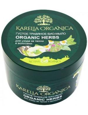 Karelia Organica Gęste bio mydło ziołowe do ciała i włosów 500ml