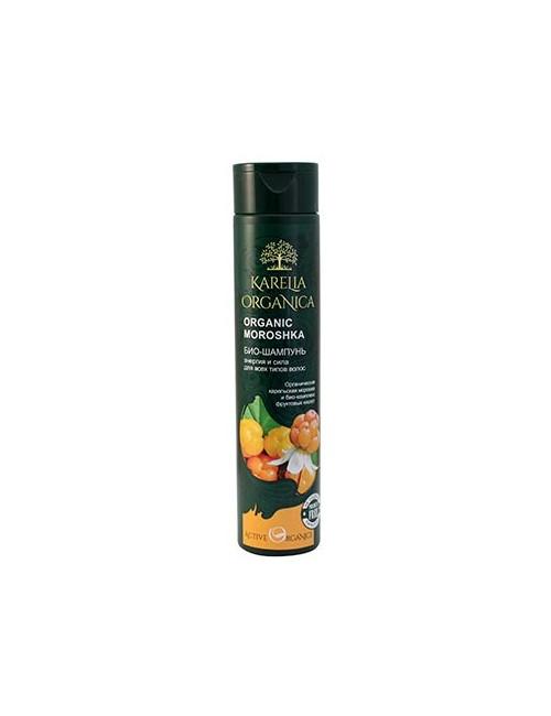 Karelia Organica Wzmacniający bio szampon do włosów Moroshka