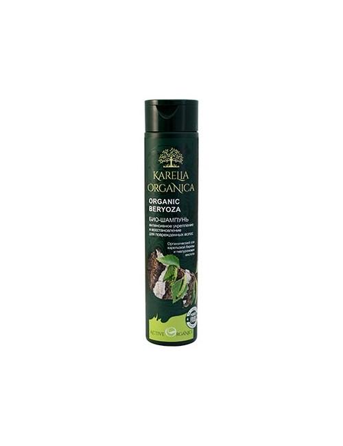 Karelia Organica  Wzmacniający bio do włosów z brzozą i kwasem hialuronowym Beryoza