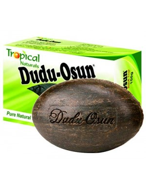 Dudu Osun Naturalne czarne mydło afrykańskie Black Soap Tropical