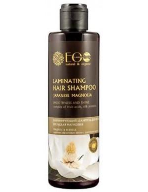 Ecolab Laminujący szampon do włosów - Magnolia, Kwasy Owocowe, Proteiny Jedwabiu