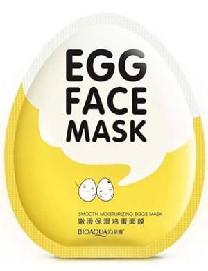 Bioaqua Proteinowa maska w płacie do twarzy Egg Face Mask
