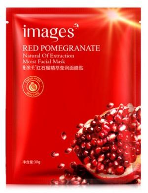 Images Maska w płacie do twarzy z ekstraktem z granatu Red Pomegranate